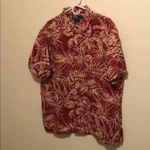 Polo by Ralph Lauren Clayton Hawaiian shirt L